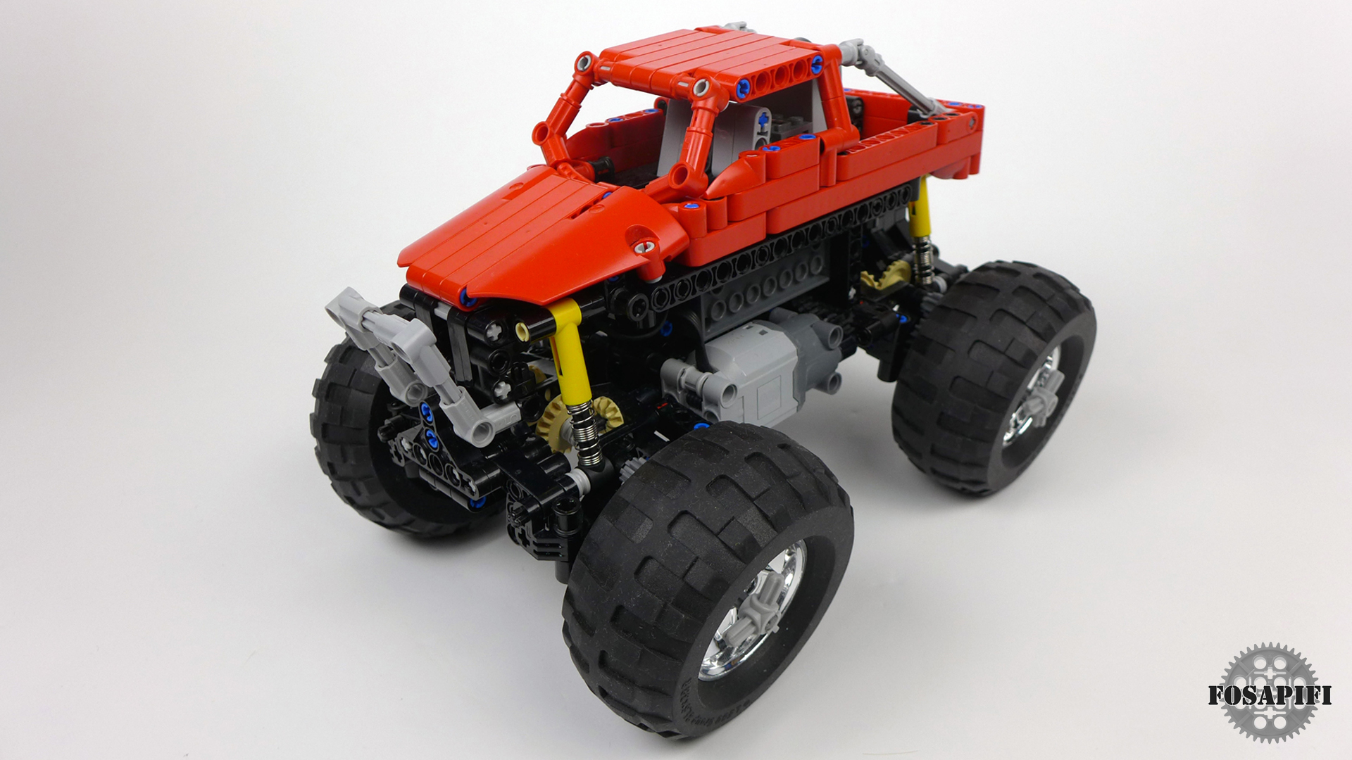 Lego Technic Creations By Fosapifi Offroad Truck Moc