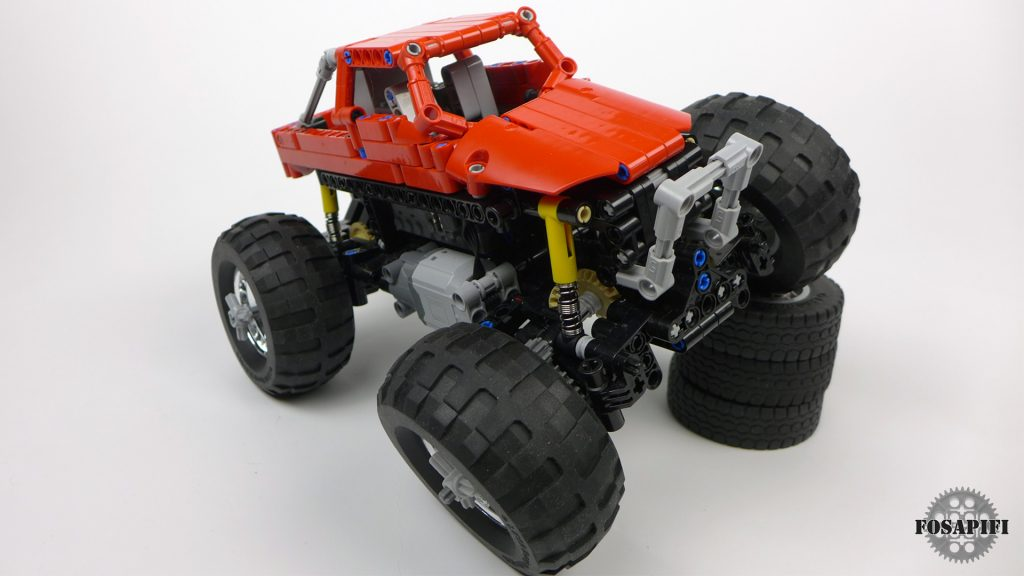 Offroad Truck - LEGO Technic Creations by FOSAPIFI