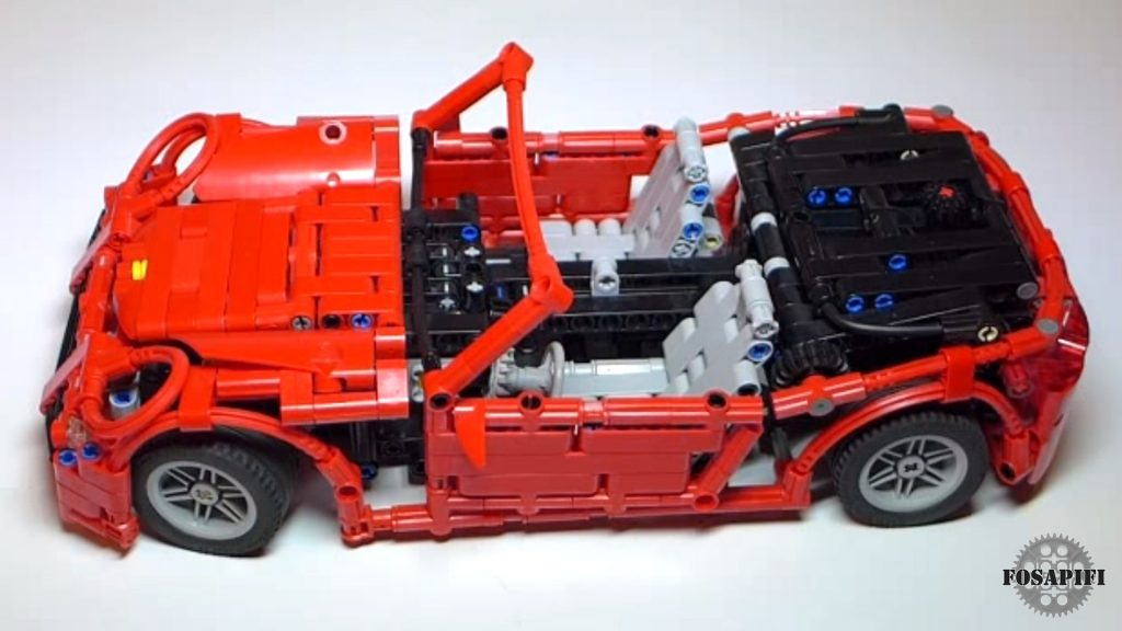 Porsche 911 - LEGO Technic Creations by FOSAPIFI