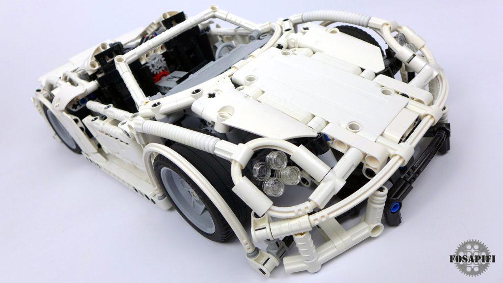 Porsche 918 Spyder - LEGO Technic Creations by FOSAPIFI