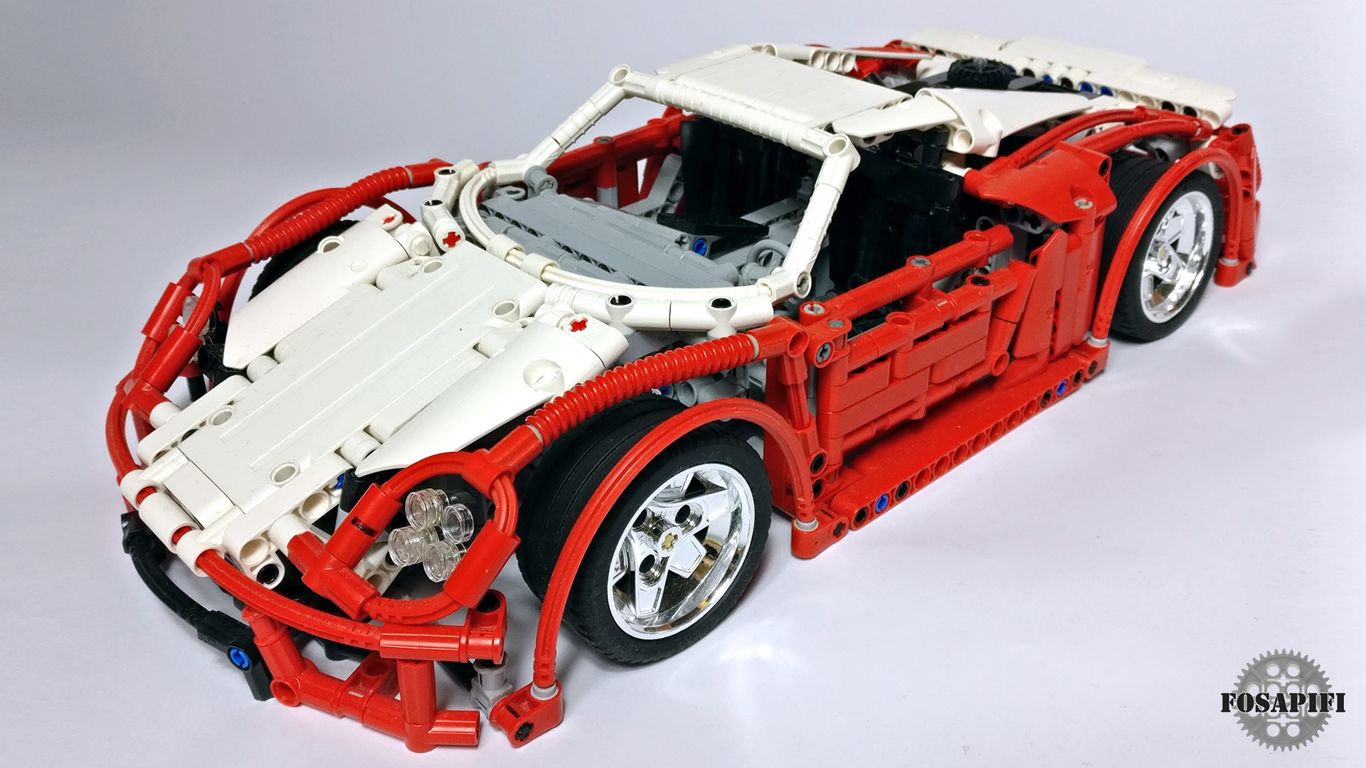 lego technic creations by fosapifi porsche 918 spyder moc. Black Bedroom Furniture Sets. Home Design Ideas