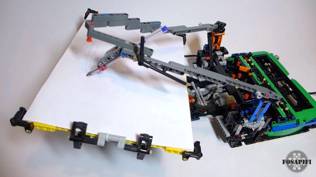 Spirograph - LEGO Technic Creations by FOSAPIFI
