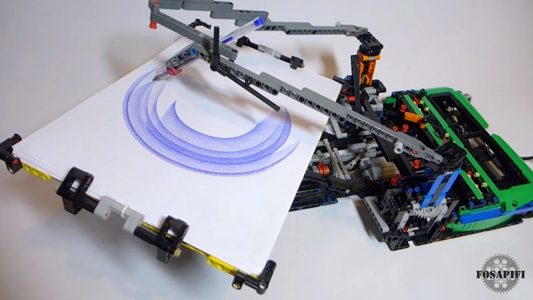 Spirograph - LEGO Technic Creations by FOSAPIFI
