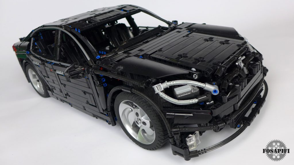 Tesla Model S 2016 - LEGO Technic Creations by FOSAPIFI