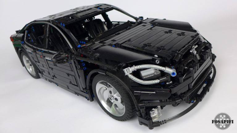 Tesla Model S 2016 - LEGO Technic Creations by FOSAPIFI